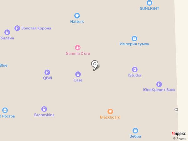 La Vetrina на карте Ростова-на-Дону