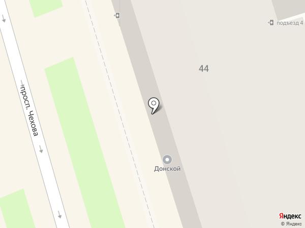 Мастер праздника на карте Ростова-на-Дону