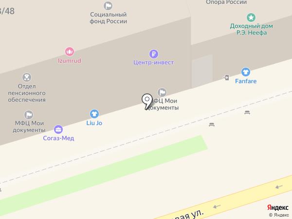 Искусница на карте Ростова-на-Дону