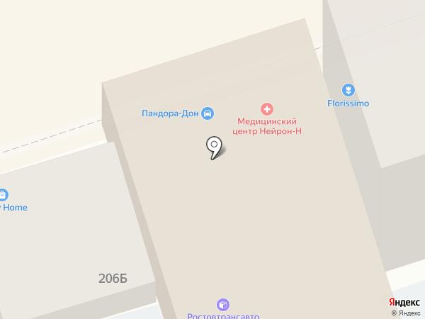 APPLE-CLINICA на карте Ростова-на-Дону