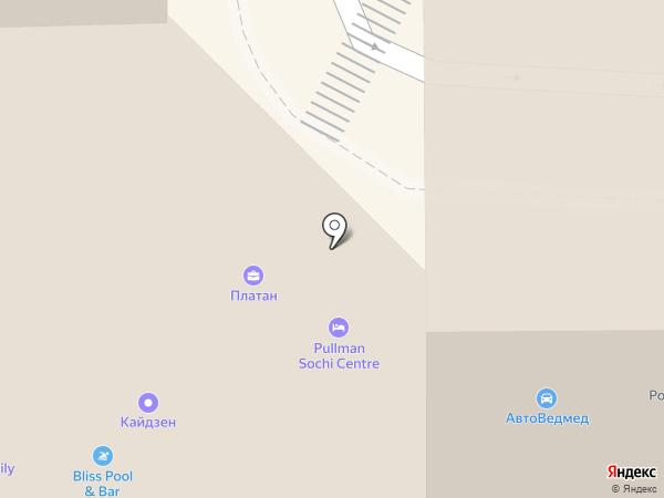 A1 на карте Сочи