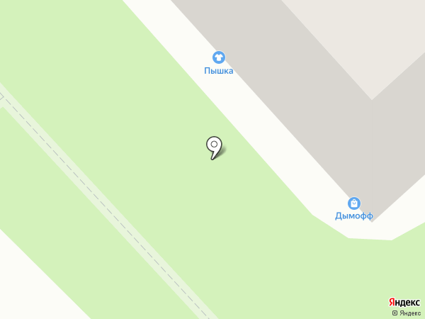 Пышка на карте Рязани