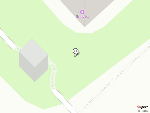 Дымофф на карте Рязани