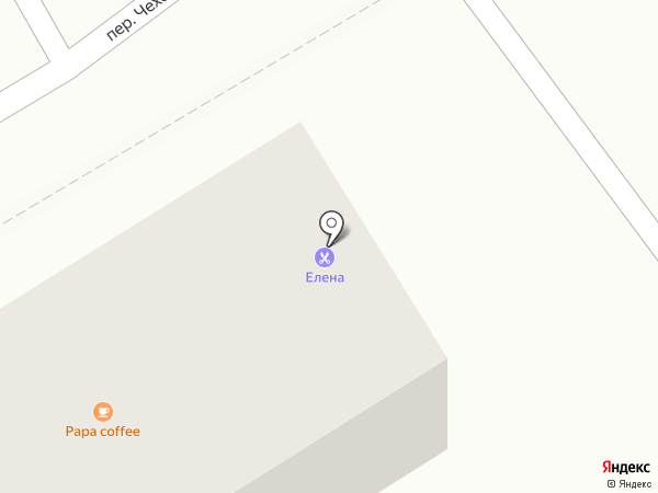 Эрика на карте Сочи