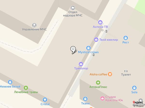 Сочинское инспекторское отделение на карте Сочи