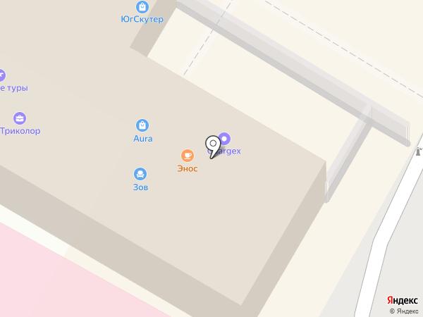 Народная мебель на карте Сочи
