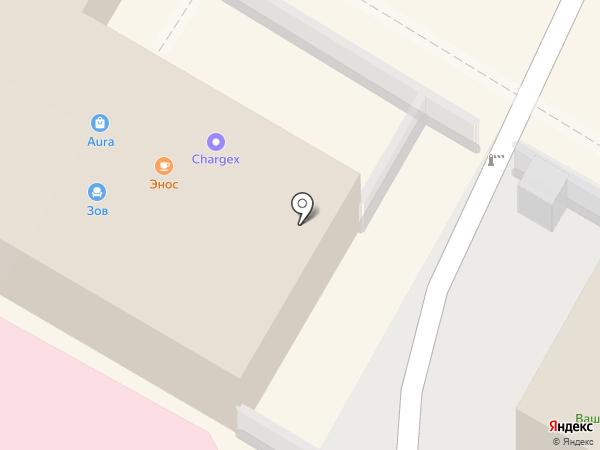 Энос на карте Сочи