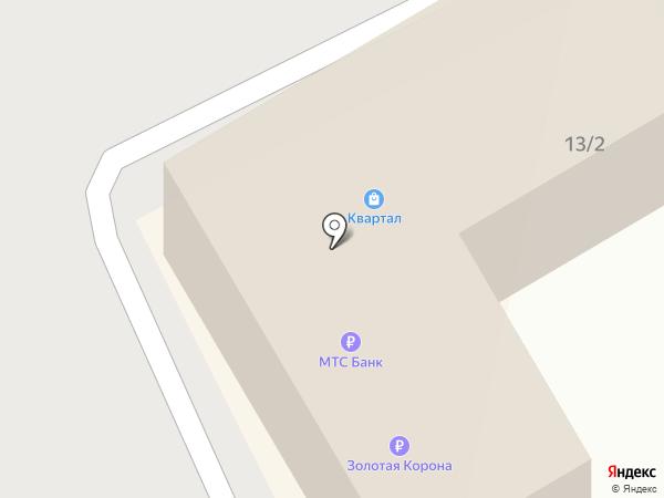 Кентро на карте Сочи