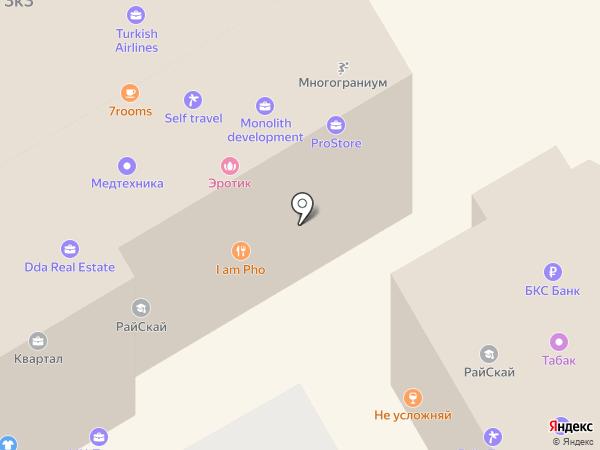REAL недвижимость на карте Сочи