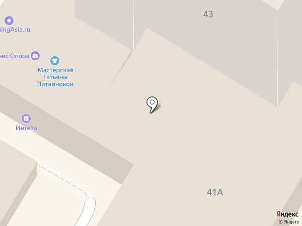Бизнес-центр на карте Сочи