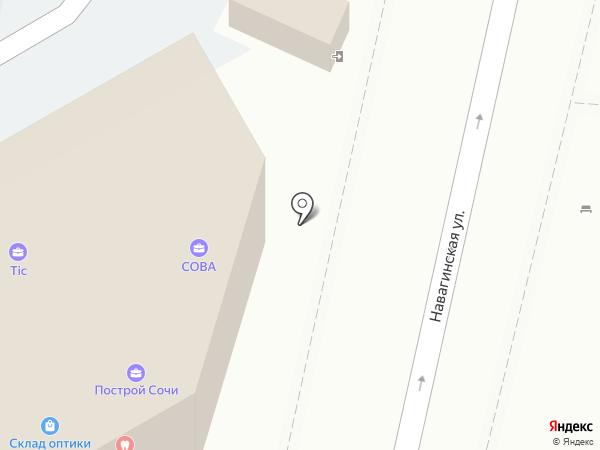 Jasmin на карте Сочи