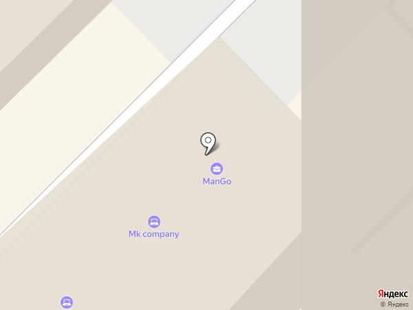 Южная столица на карте Сочи