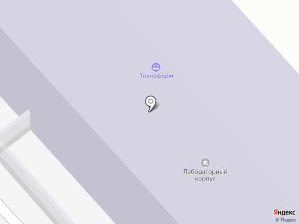 Рязанский государственный радиотехнический университет на карте Рязани