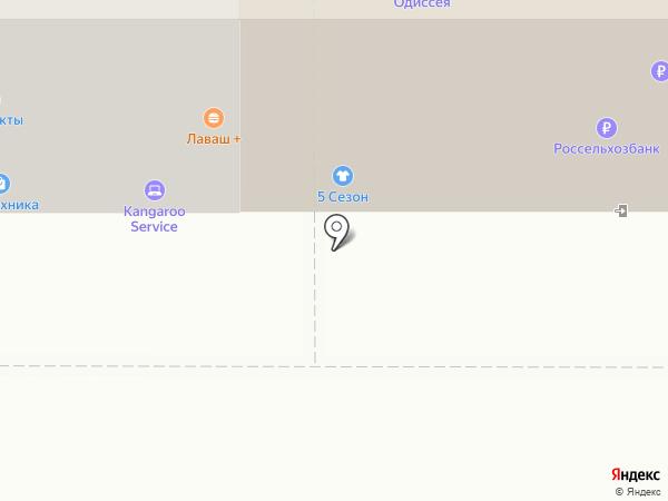 Тиффи на карте Рязани