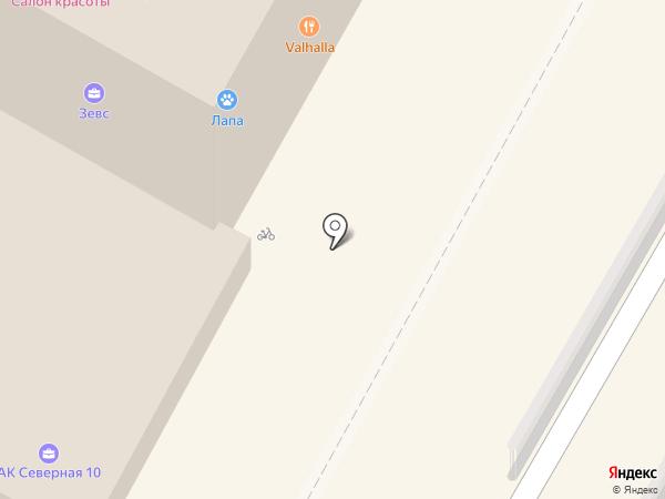 Киоск по ремонту сотовых телефонов на карте Сочи