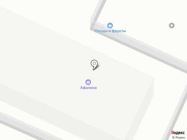 Афалина на карте Сочи