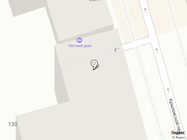Уютный дом на карте Ростова-на-Дону