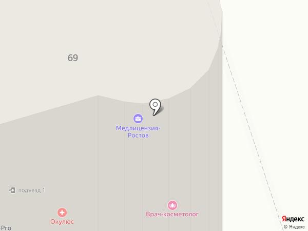 GEN87 на карте Ростова-на-Дону