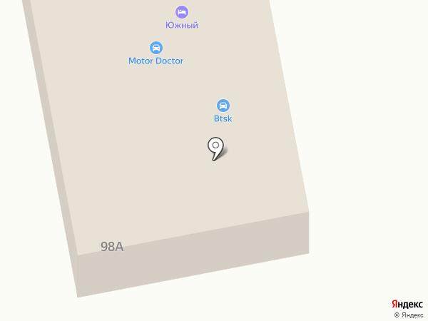 Индиго на карте Батайска