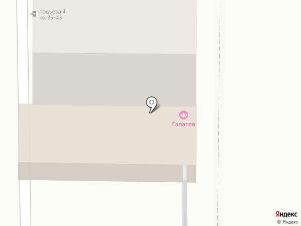 Галатея Тур на карте Рязани