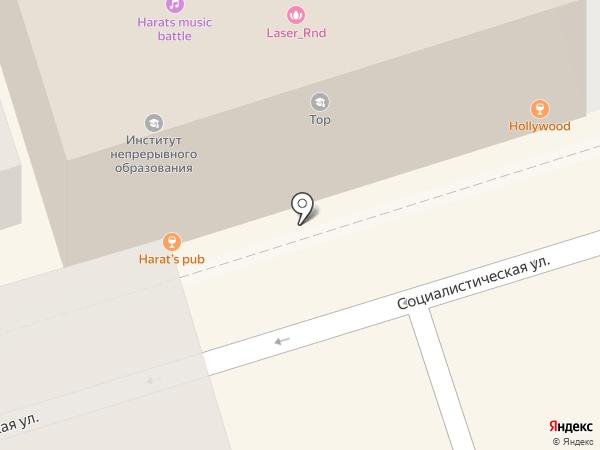 Группа промышленной безопасности на карте Ростова-на-Дону