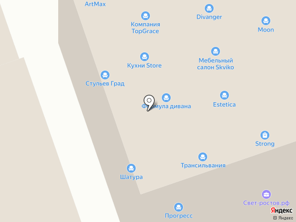 Subaru на карте Ростова-на-Дону