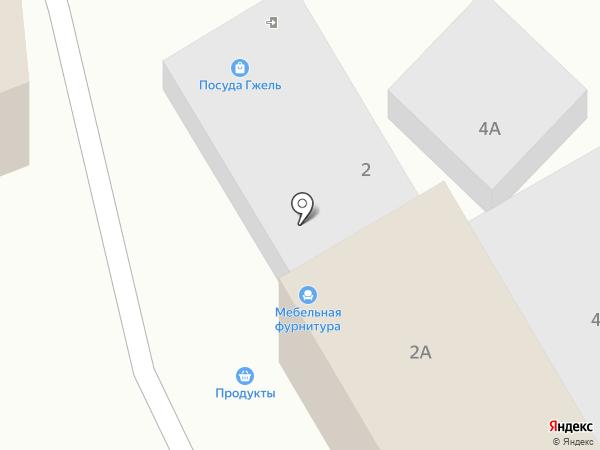 Модуль ЛТД на карте Сочи