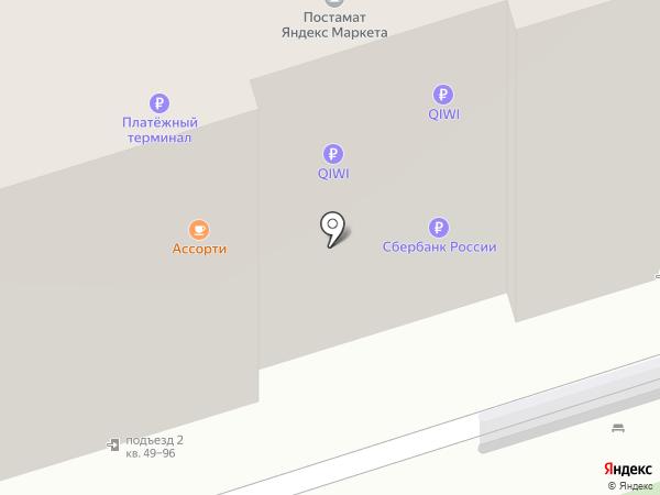 ДЭФО Мебель на карте Ростова-на-Дону