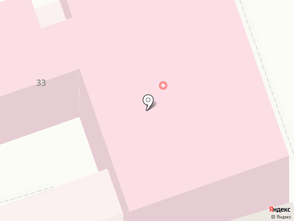 Противотуберкулезный клинический диспансер на карте Ростова-на-Дону