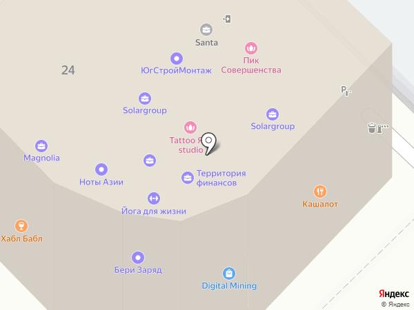 Santa на карте Сочи