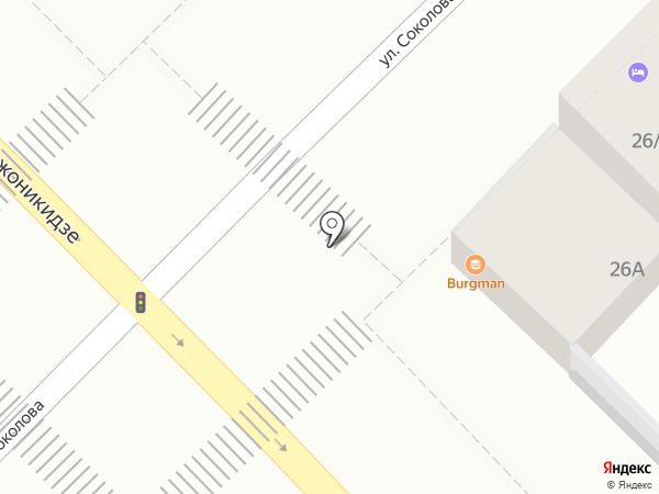 BURGMAN на карте Сочи