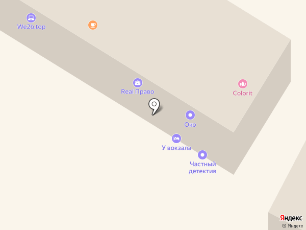 Hostel Olimpic Sochi на карте Сочи