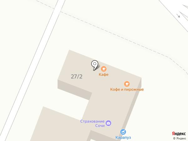 Ломбард Золотая Линия на карте Сочи