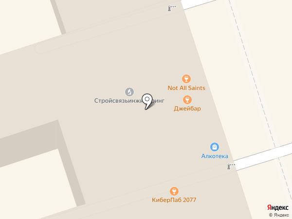 Тяжпромэлектропроект на карте Ростова-на-Дону