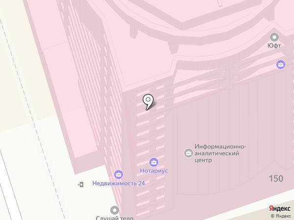 Адвокатский кабинет Боженко А.В. на карте Ростова-на-Дону