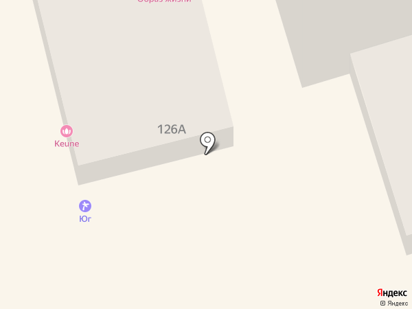 Keune на карте Ростова-на-Дону
