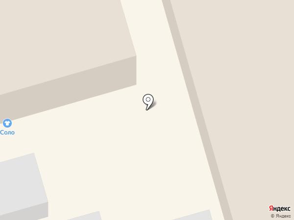 Соло на карте Ростова-на-Дону
