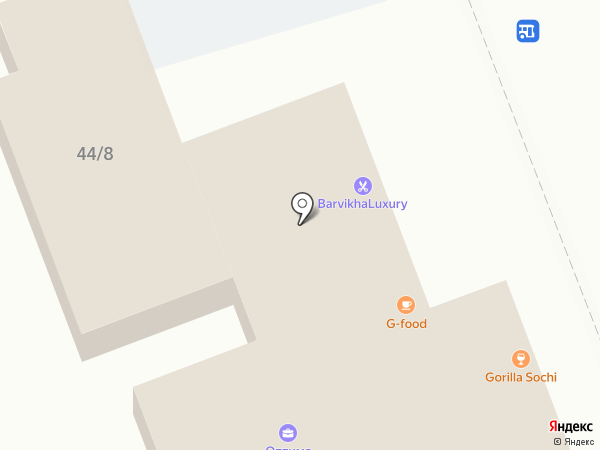 КарУст на карте Сочи
