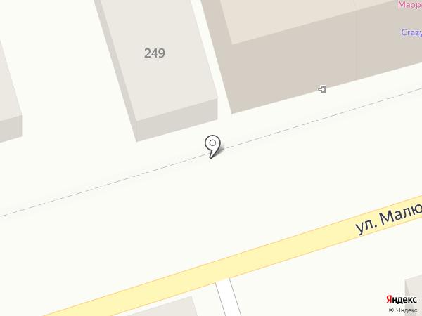 Магазин разливного пива на карте Ростова-на-Дону