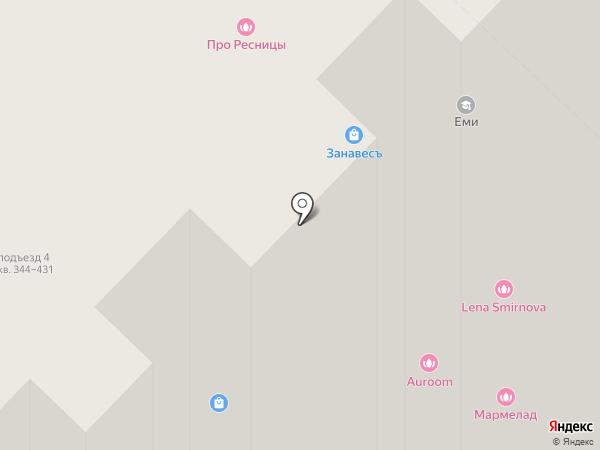 Чапаев на карте Рязани