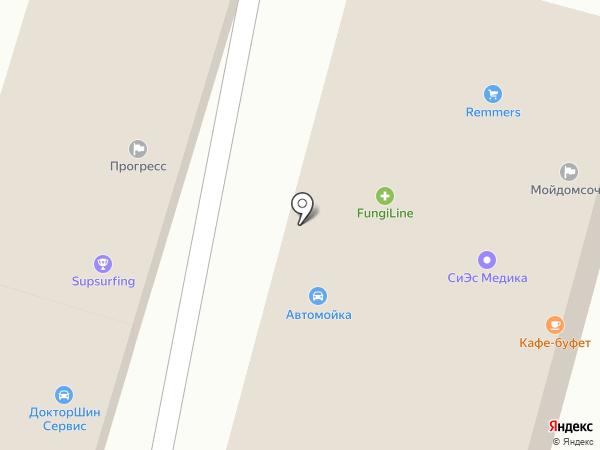 Контакт на карте Сочи