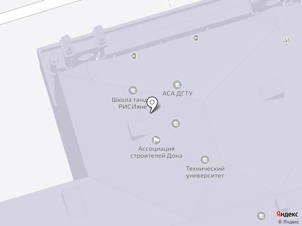 Донская казачья гвардия на карте Ростова-на-Дону