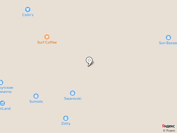 Colin`s на карте Сочи