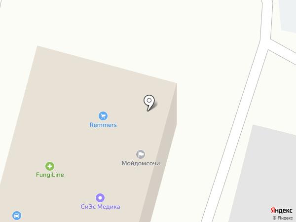 Кафе на карте Сочи