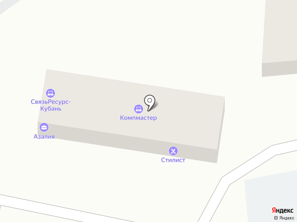 Стилист на карте Сочи