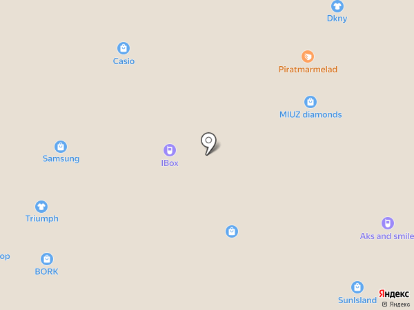 Мир Сладости на карте Сочи