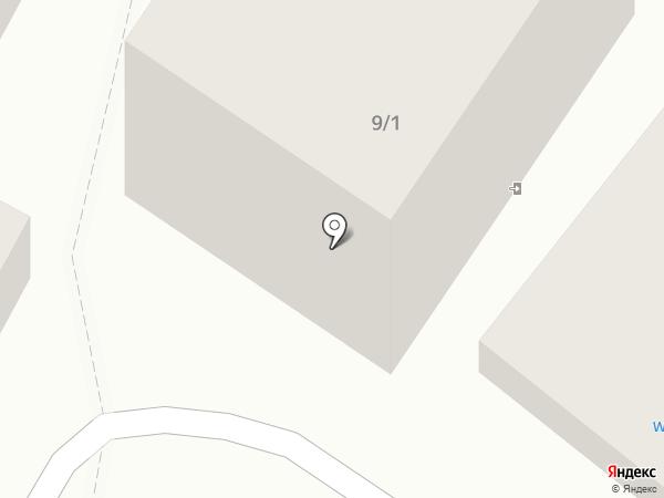 Южный город на карте Сочи