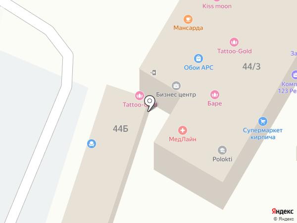Автоправо на карте Сочи