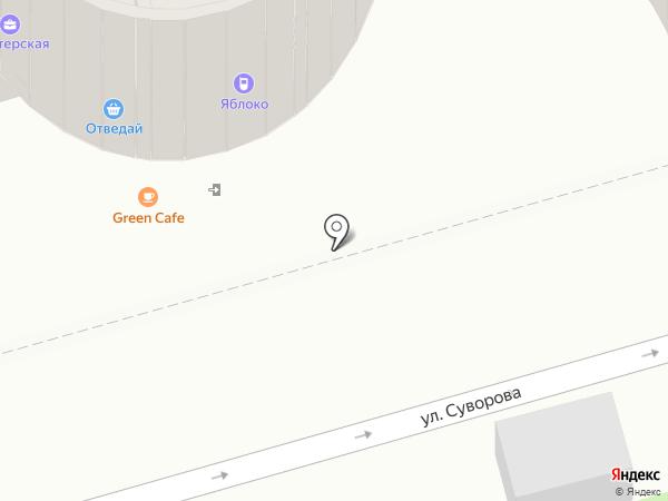 Этажи-Ростов на карте Ростова-на-Дону