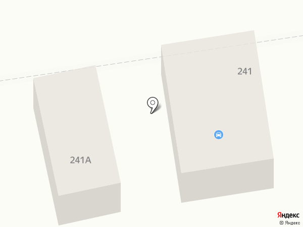 Магазин автотоваров на Ленинградской на карте Батайска